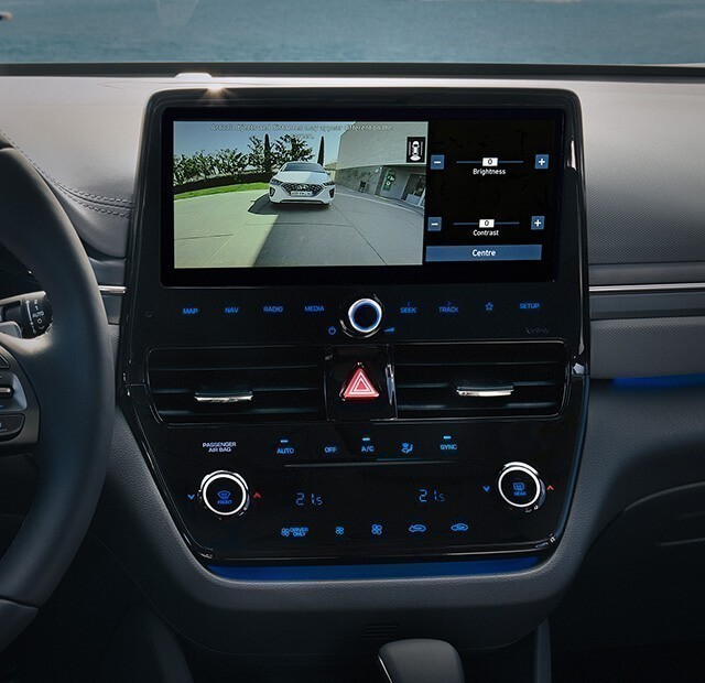 Driving Rear-View Monitor (DRM)