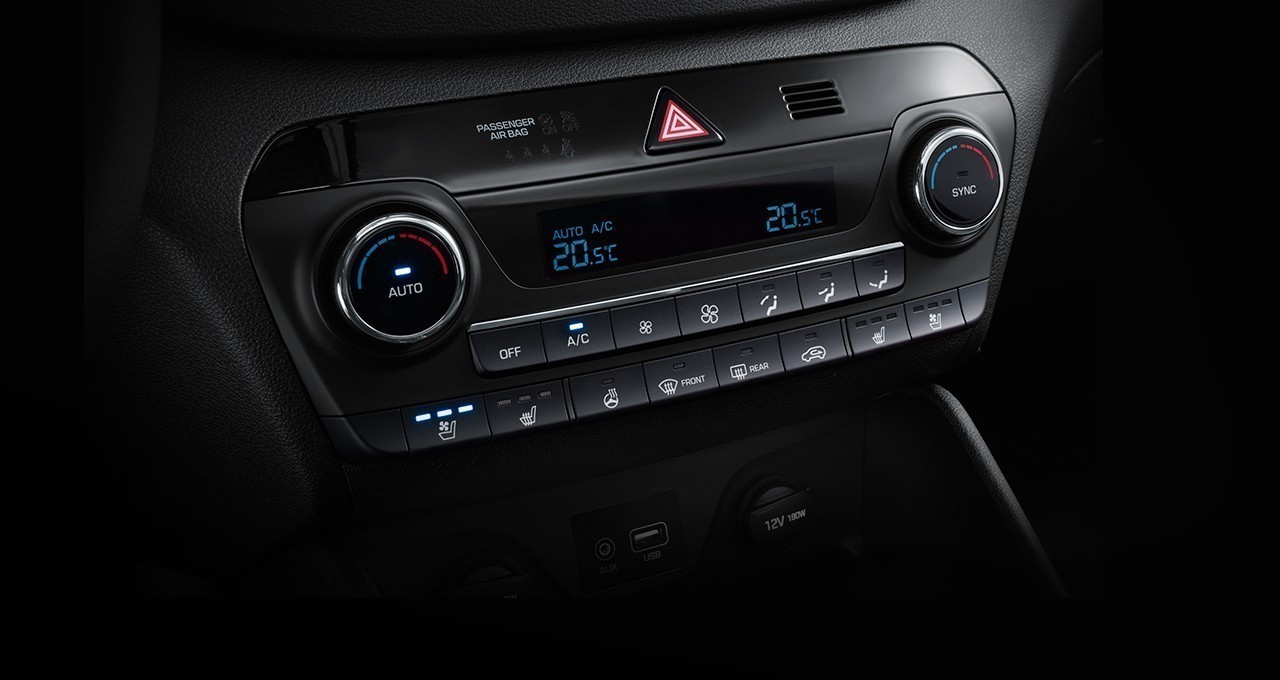 Fully automatic climate control